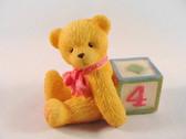 Cherished Teddies  ~  NUMBER 4  *  NIB