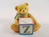 Cherished Teddies  ~  LETTER  Z  *  NIB