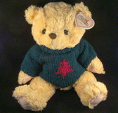 "Cherished Teddies  ~  JOHN ... 14"" Christmas Bear  *  NWT"