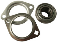 Axle Bearing and Flange Set