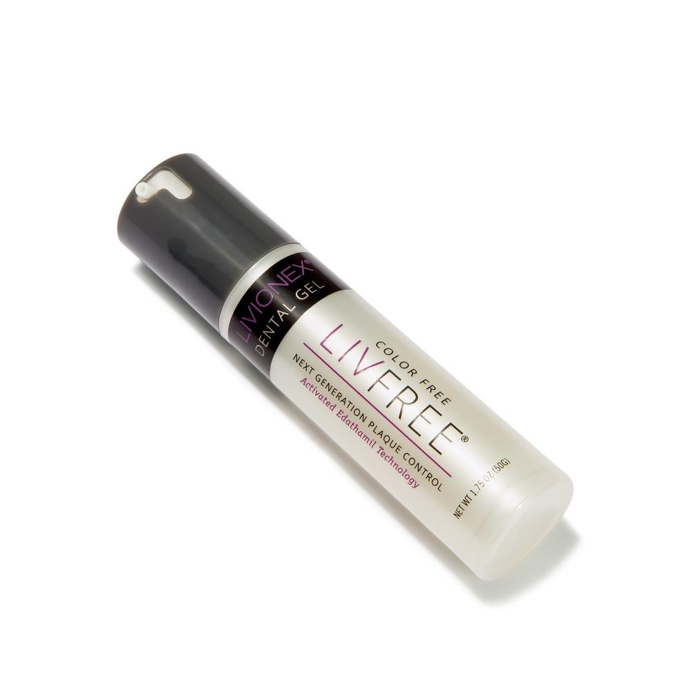 LIVFREE Dental Gel Pump on an angle