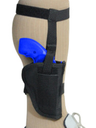 "New Ankle Gun Holster for 2"" Snub Nose 22 32 38 357 Revolvers (#07-2)"