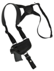 New Horizontal Cross Harness Gun Shoulder Holster for 380 Ultra-Compact 9mm 40 45 Pistols (#47sHOR)