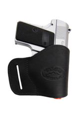 New Black Leather Yaqui Gun Holster for Mini/ Pocket 22 25 32 380 Pistols (#19MBL)