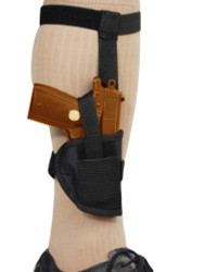 New Concealment Ankle Gun Holster for Mini/Pocket .22 .25 .380 Pistols (#07)