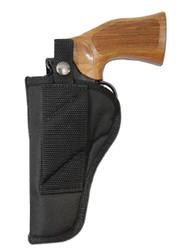 "New Cross Draw Outside the Waistband (OWB) Gun Holster for 4"" Revolvers (#CR4)"