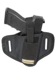 New 6 Position Ambidextrous Concealment Pancake Gun Holster for Full Size 9mm 40 45 (#33)