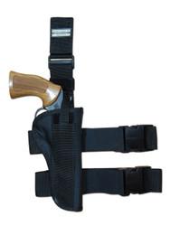 "New Tactical Leg Gun Holster for 4"" .38 .357 .41 .44 Revolvers (#78-4)"