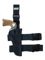 "New Tactical Leg Gun Holster for 6"" .38 .357 .41 .44 Revolvers (#78-6)"