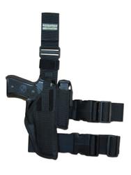 New Tactical Leg Gun Holster for Full Size 9mm 40 45 Pistols (#78-32)