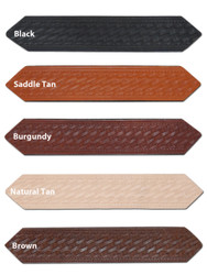 "New 1 1/2"" (1.5"") Basketweave Leather Belts for Sizes 47"" - 53"" (#L15B)"