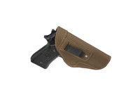 New Olive Drab Leather Inside the Waistband Holster for Full Size 9mm 40 45 Pistols (#68-32OD)