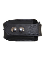 New Black Leather Horizontal Single Magazine Pouch (#HBL1MAG)