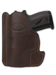 New Brown Leather Concealment Pocket Gun Holster for Mini/Pocket .22 .25 .380 .32 Pistols (#PO49BR)