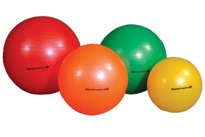 Shop our wide variety of exercise balls. All shapes and sizes available.