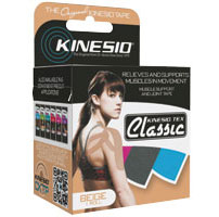 Manage pain and protect yourself from sprain and other sports injuries with kinesio tape.