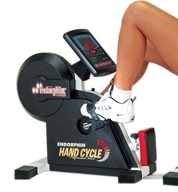 Lower body ergometers for rehabilitation and exercise. Made by Endorphin.