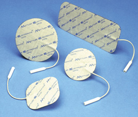 Self adhesive electrodes for TENs, E-Stim and Combo Therapy Units.