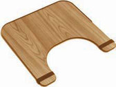 Standard Wood Finish Wheelchair Tray - 24-in x 20-in