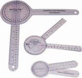 Baseline 12-inch Plastic 360-Degree ISOM/STFR Goniometer - 25