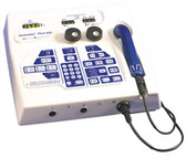 The Mettler Sonicator Plus 930 comes standard with a 5cm2 dual frequency 1 and 3 MHz. applicator.