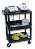 Mettler Electronics ME75 Mobile Therapy Cart w Hospital Outlets