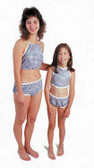 Dipsters Limited Use Girls Bib Top/Bikini Patientwear - Dozen