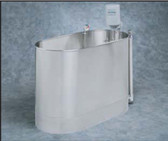 Whitehall Stainless Steel Hi-Boy Stationary Whirlpool 105 Gallon.