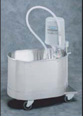 Whitehall Stainless Steel Podiatry P-10-M Mobile Whirlpool