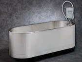 Whitehall Stainless Steel Lo-Boy Stationary Whirlpool