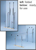 Parallel Bars - Space Saving Folding Wall Mount