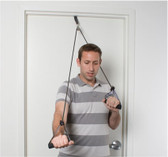 Cando Shoulder Pulley w/ Black Exercise Tubing and Handles