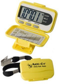EKHO Bee-Fit Worker Bee Step and Distance Pedometer