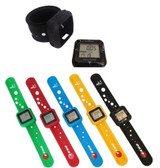 EKHO Activity Monitor Step Pedometer Watch Colored Set of 5
