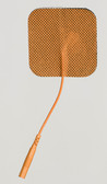 "2"" Square Tan Cloth Back Electrodes"
