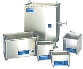 Mettler's ultrasonic cleaners are available in several different sizes. The 5.5 gallon container is the second largest of the Cavitator line.