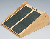 Incline Board (Wooden, 5-25 Degree Elevation, 14 x 18 inch Surface)