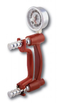 Hydraulic Hand Grip Strength Testing Dynamometer made by Baseline Evaluation