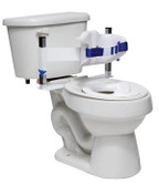 Toilet Support System with Standard Back (Large)