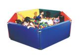 Sensory Ball Environment (4 panels, with 1,000 large balls)