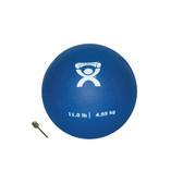"Cando Soft Pliable Medicine Ball (7"", Blue, 11 lbs)"