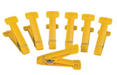 Replacement Pins for Graded Pinch Finger Exerciser (Yellow, Extra Light, 7 pieces)