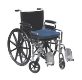 Gel Wheelchair Cushion with Removable Cover (16 x 20 x 2 inches)