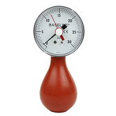 Baseline pneumatic (squeeze bulb) dynamometer (30 PSI) w/reset
