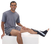 Treat sprains and other ankle injuries with Game Ready® Ankle Wraps & Sleeves.