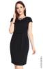 Jersey Sheath Dress - Black