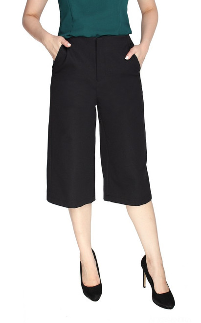 Basic Culottes - Black