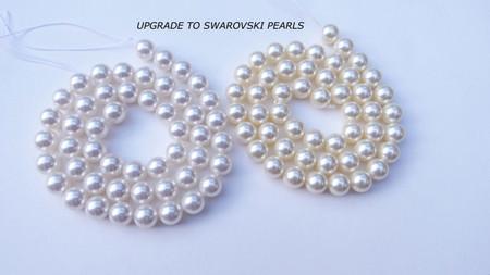 Upgrade to Swarovski Pearls