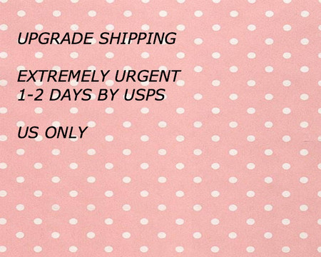 Shipping Upgrade , Extremely Urgent Service 1-2 days