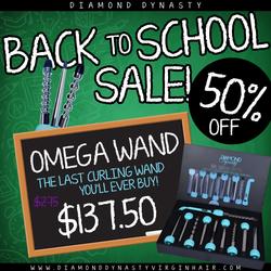 THE OMEGA WAND: BACK 2 SCHOOL SALE!